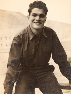 Andrew Goldstein nel Colorado, 10th Mountain Division. 1943